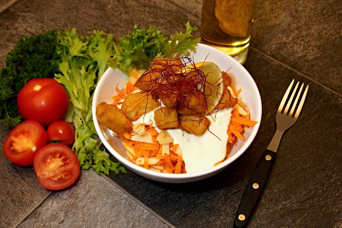 Kuřecí salát pikant(nepikant)